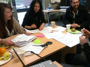Group at work at Design Jam Limerick
