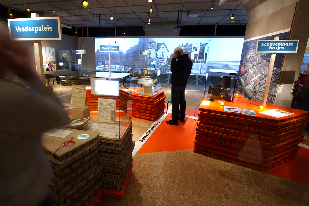 In the Atlantic Wall exhibition in Museon